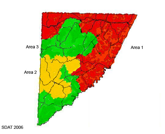 garrett county area map